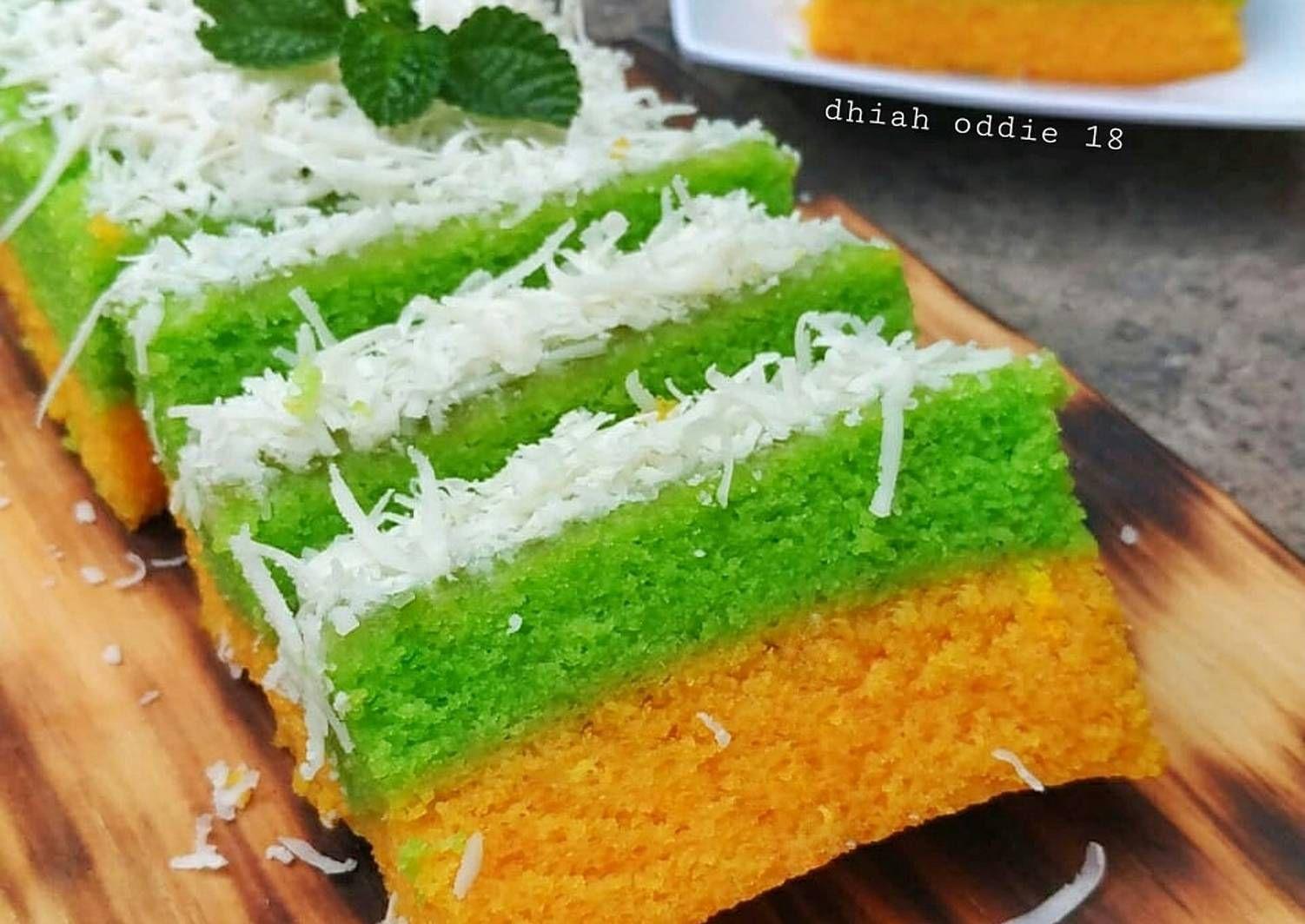 Resep Bolu Lapis Singkong Oleh Dhiah Oddie Resep Resep Makanan Manis Makanan