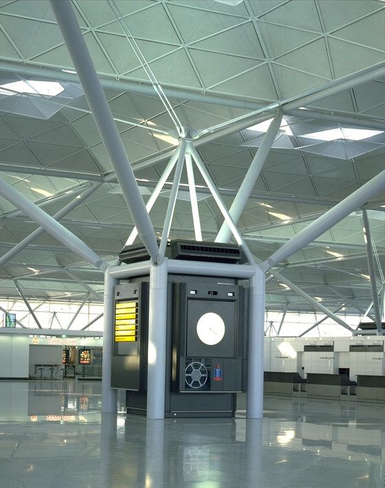 Stansted Airport By Foster Partners Airports Norman Foster Foster Partners Structure Design