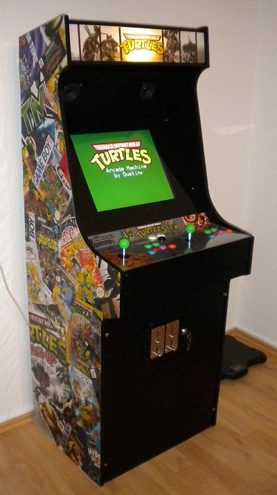 Project MAME - Other Mame cabinets based on the Project MAME ...