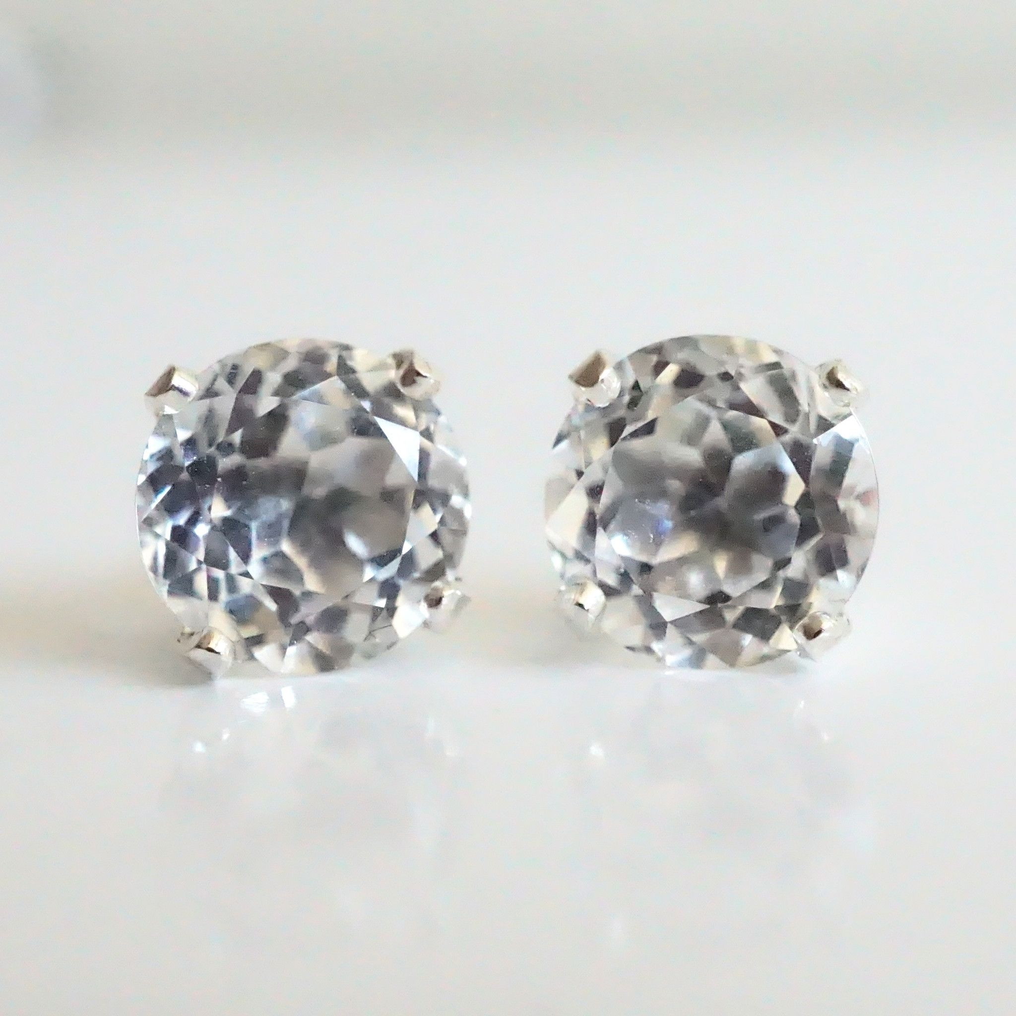 valentine giveaway earrings s day topaz thrifty valentines stud white momma ramblings shadora silver
