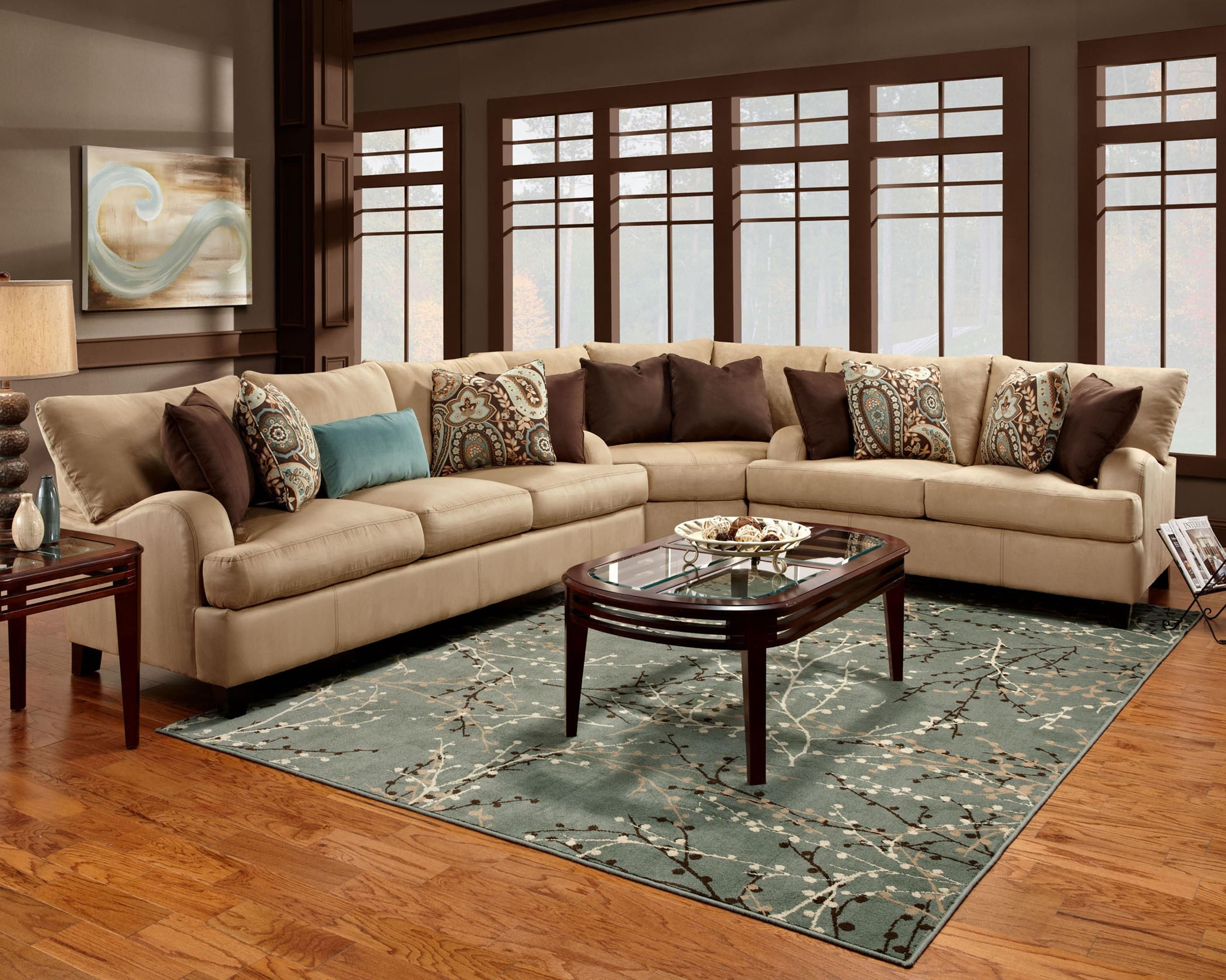 franklin 809 casual 3 piece sectional sofa ahfa sofa sectional rh pinterest com