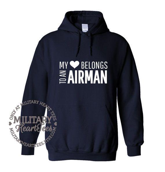 Air Force Hoodie, Air Force, Hoodie, Military, Wife, Girlfriend, Mom, Air Force Wife, Air Force Mom, Military Wife, Military Hoodie
