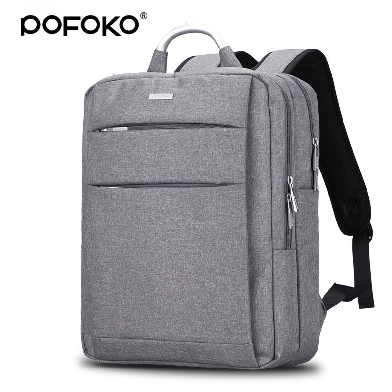 POFOKO Brand laptop bag watweproof backpack for macbook pro 13 ...