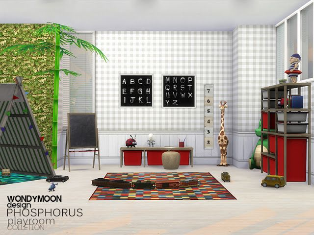 Phosphorus Playroom by Wondymoon Spielzimmer ideen