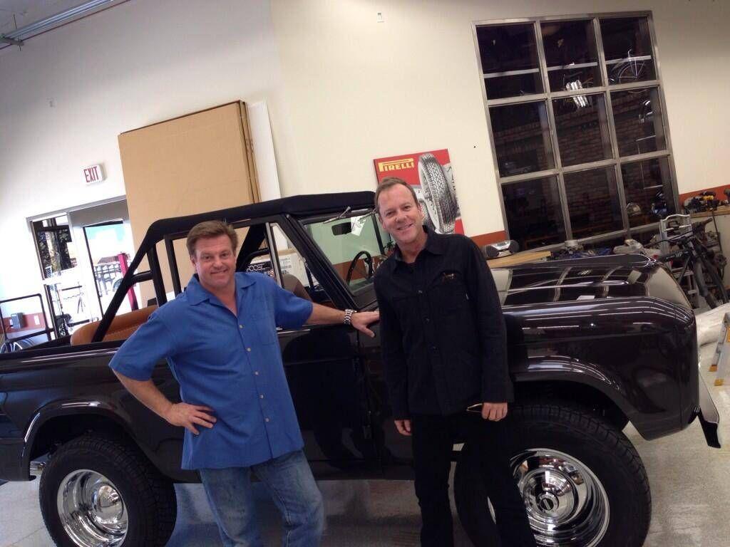 Kiefer's 73 Ford Bronco by Foose Design shop