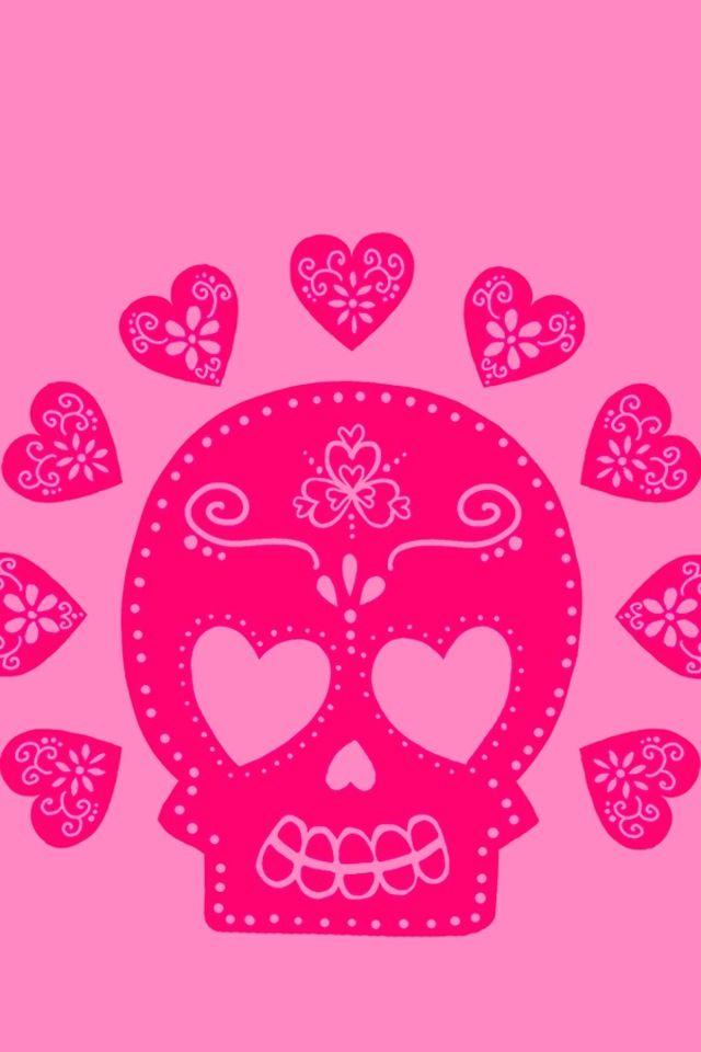 Día de Muertos ♥ | Skulls in 2019 | Skull wallpaper, Ipod