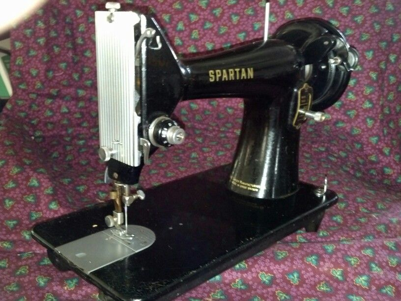 Singer 400K Spartan Made In Great Britain 400 A 40040 Size Machine Extraordinary 1960 Singer Spartan Sewing Machine Model 192k