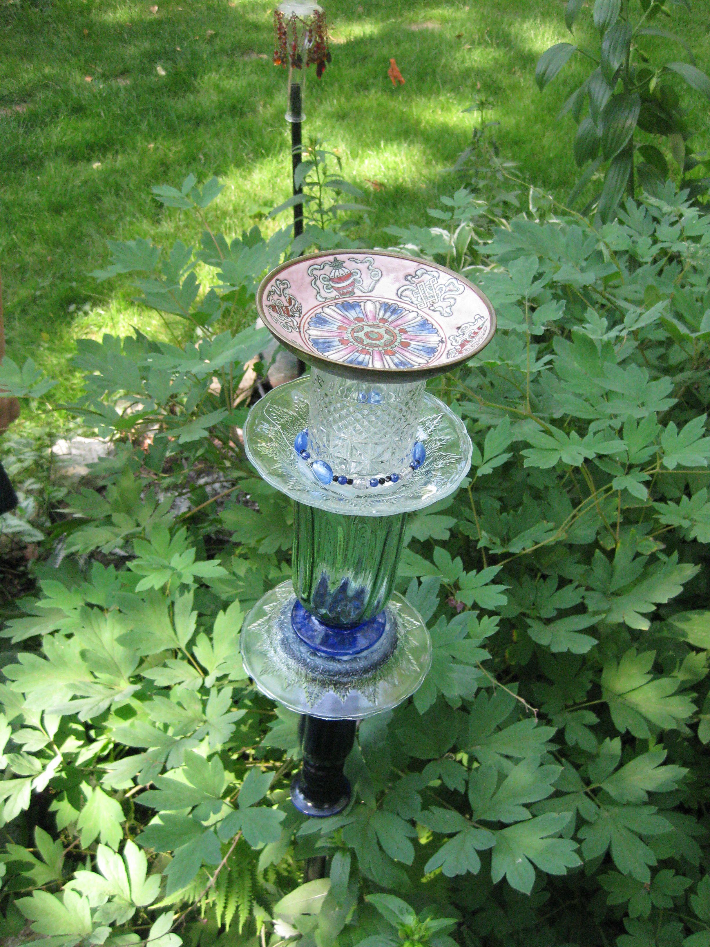 It was fun to make these garden decorations | Garden crafts ...