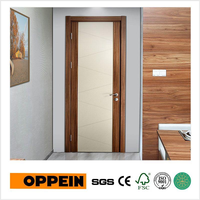 CPL Oppein Melamina Moderna Interior Composite Porta De Madeira - Roulette Porte De Placard Coulissante