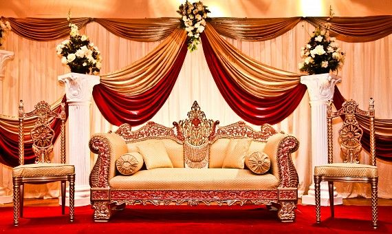 beautiful wedding receptions wedding latest stages decoration designs collection 2013 part ii - Decoration