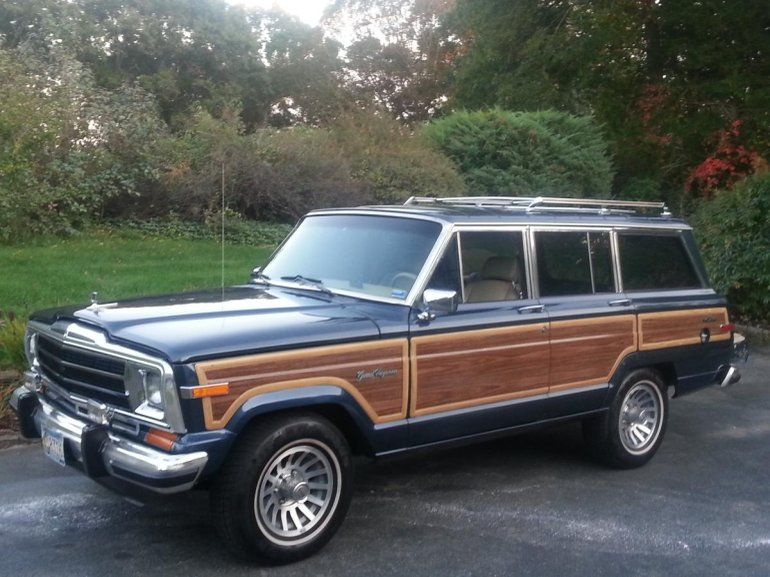 1990 Jeep Grand Wagoneer For Sale Jeep Grand Jeep Wagoneer Jeep