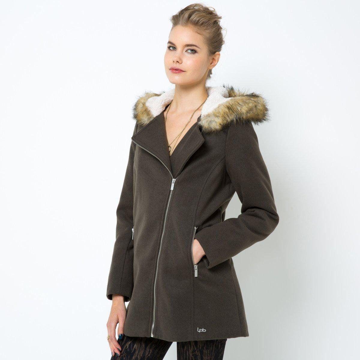 Manteau a capuche femme la redoute