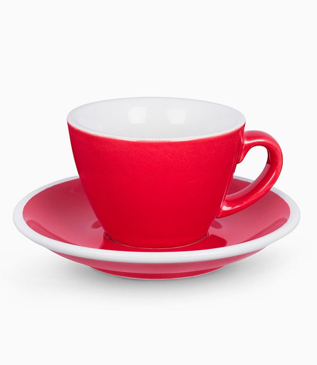 ACME EVO FLAT WHITE CUP + SAUCER