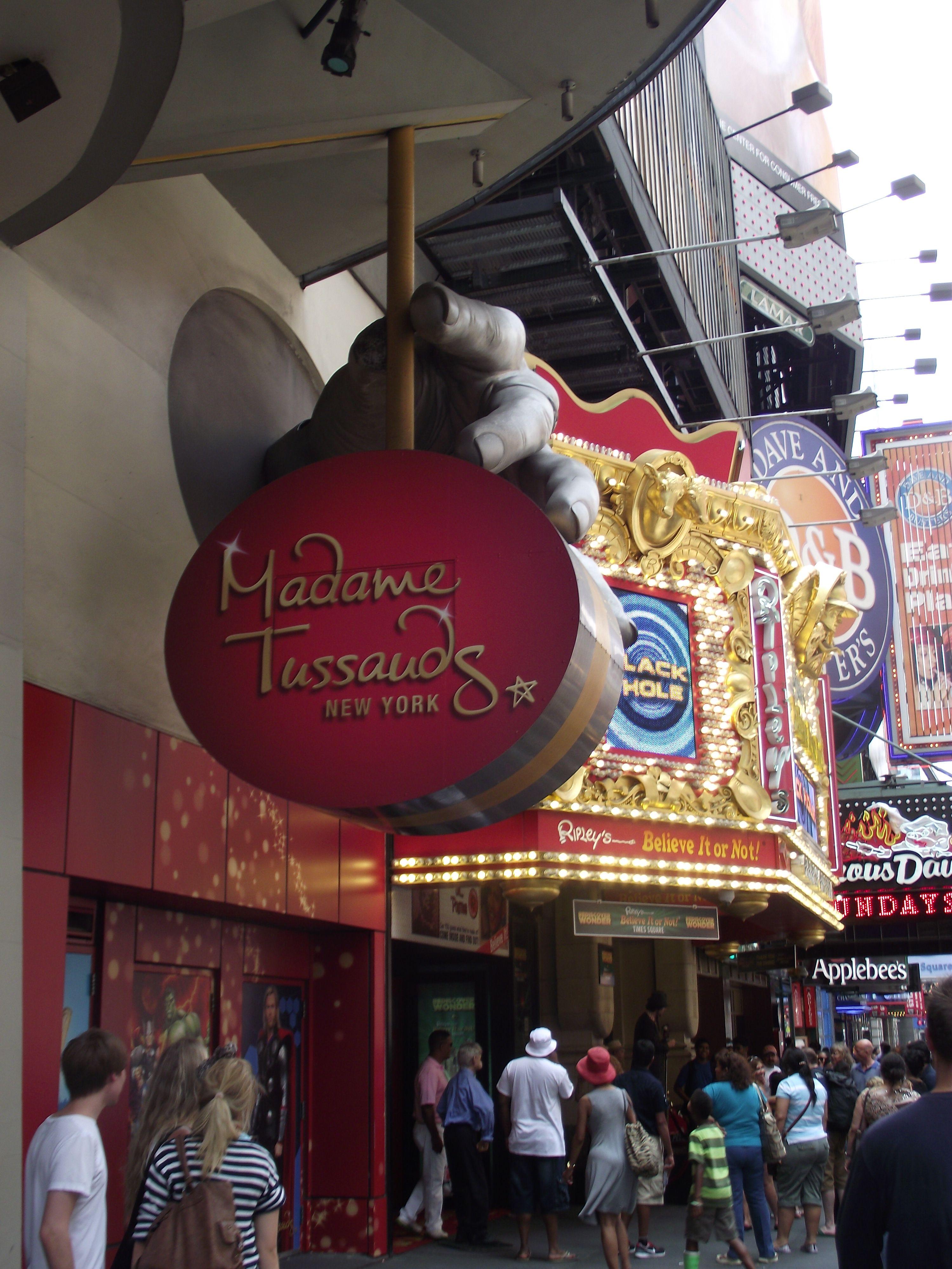 Madame Tussauds  NYC Time Square