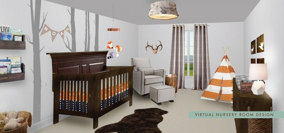 Virtual Home Decorating Nursery Room