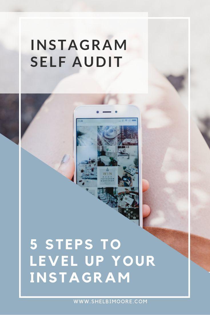 Instagram FREE course, Instagram Self Audit, Instagram