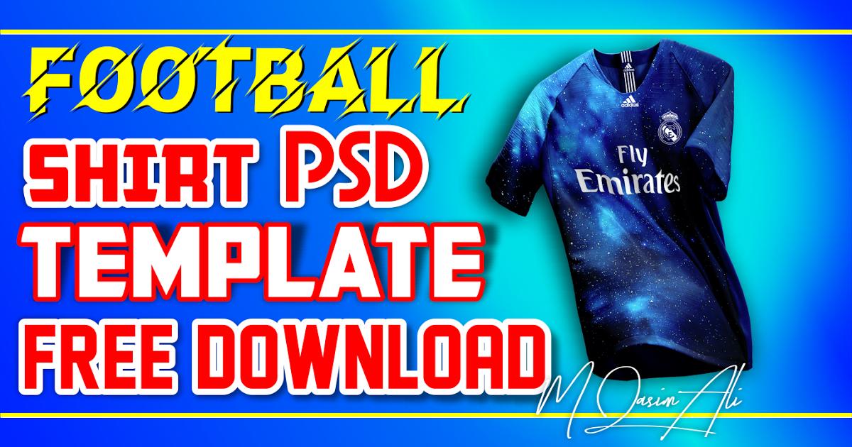 Download Football Shirt Mockup Free Download Soccer Kit Mockup Free Download By M Qasim Ali Mockup Free Download Shirt Mockup Soccer Kits