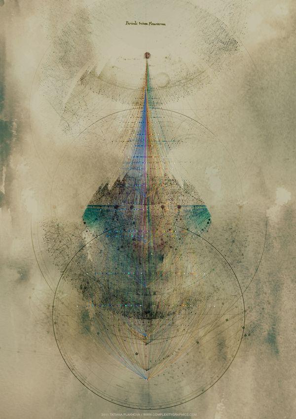 """LIGHT BEYOND SOUND"" audiovisuals by Tatiana Plakhova, Moscow"