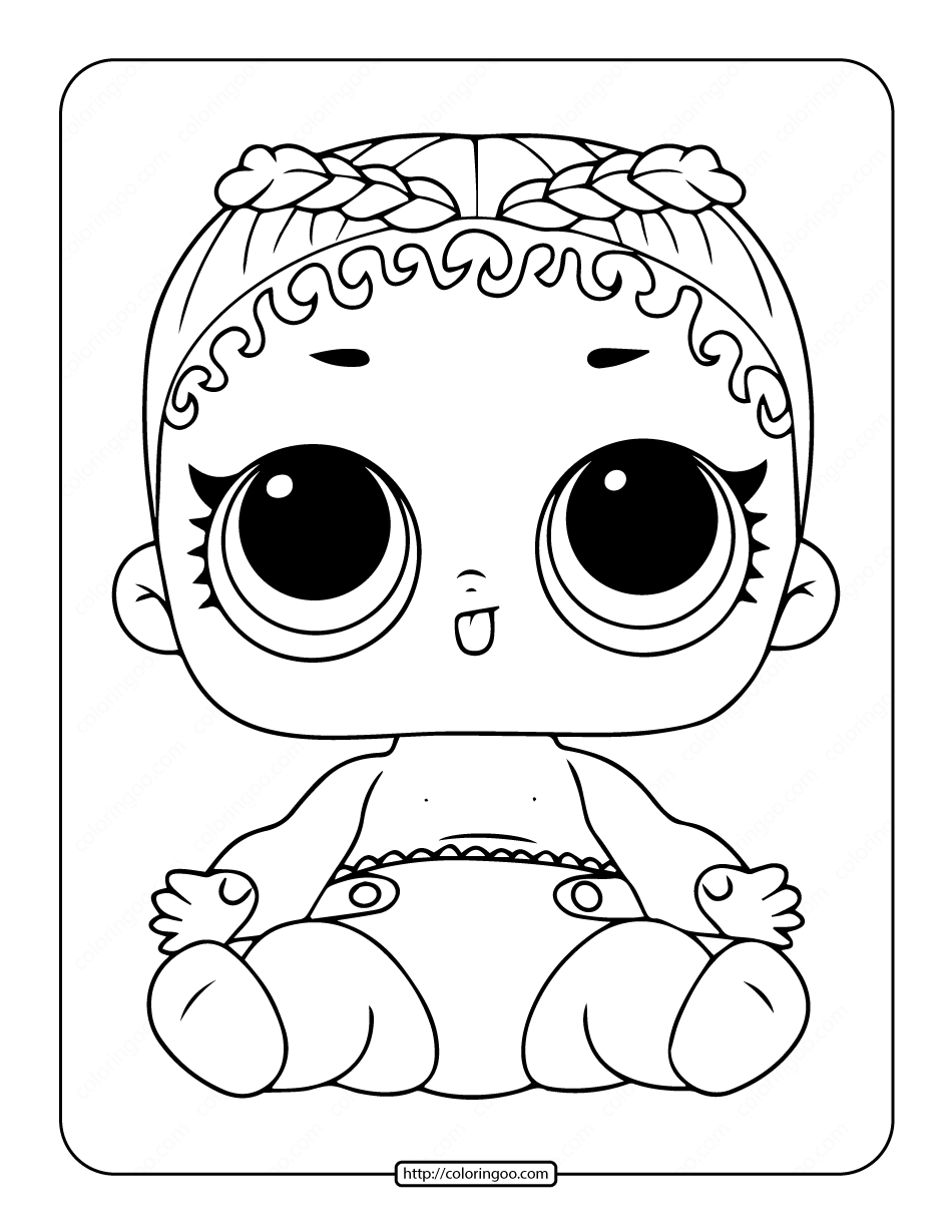 Printable Lol Surprise Lil M C Swag Stage Coloring Page 9 Lol Dolls Coloring Pages Swag Style