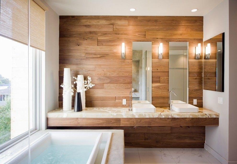 Wandpaneele badezimmer ~ Bad wandverkleidung mit holz warum denn nicht? badezimmer