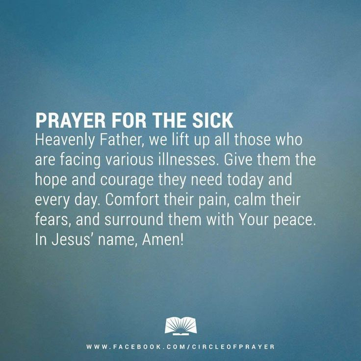 Prayers for Healing the Sick - Bing Images | Prayers
