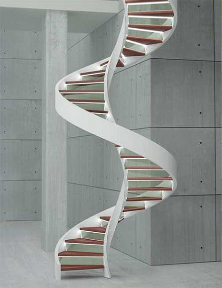 escaleras de caracol modernas escaleras de lujo edilco