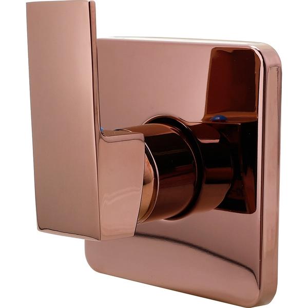 Misturador Monocomando Para Chuveiro Quadrado Oiapoque Pingoo Casa Dourado Rose Leroy Merlin Chuveiro Quadrado Misturador Monocomando Chuveiro