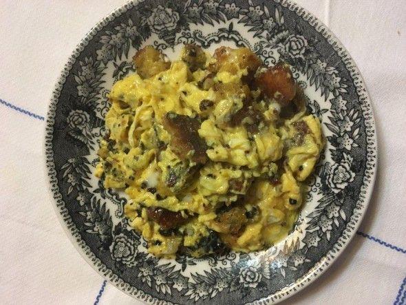 Ovos Mexidos com Broa e Piripiri - Se gosta de picante vai adorar!