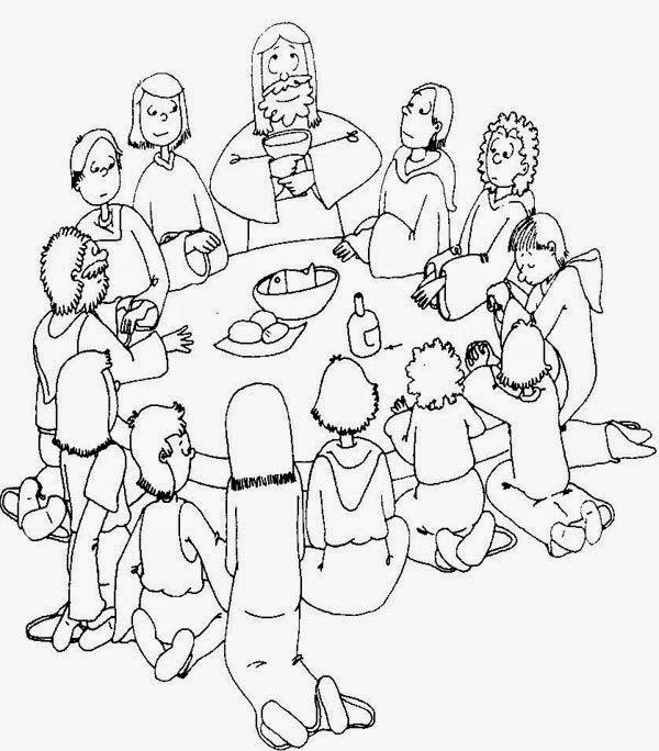 Jueves Santo. Última Cena y Eucaristía | Dibujos | Pinterest ...