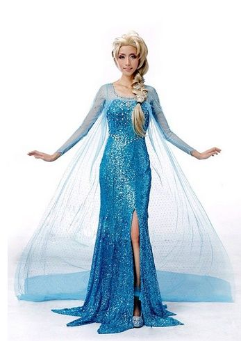 Adult Frozen Costumes - Anna u0026 Elsa  sc 1 st  Pinterest & Adult Frozen Costumes - Anna u0026 Elsa Cosplay and Accessories ...