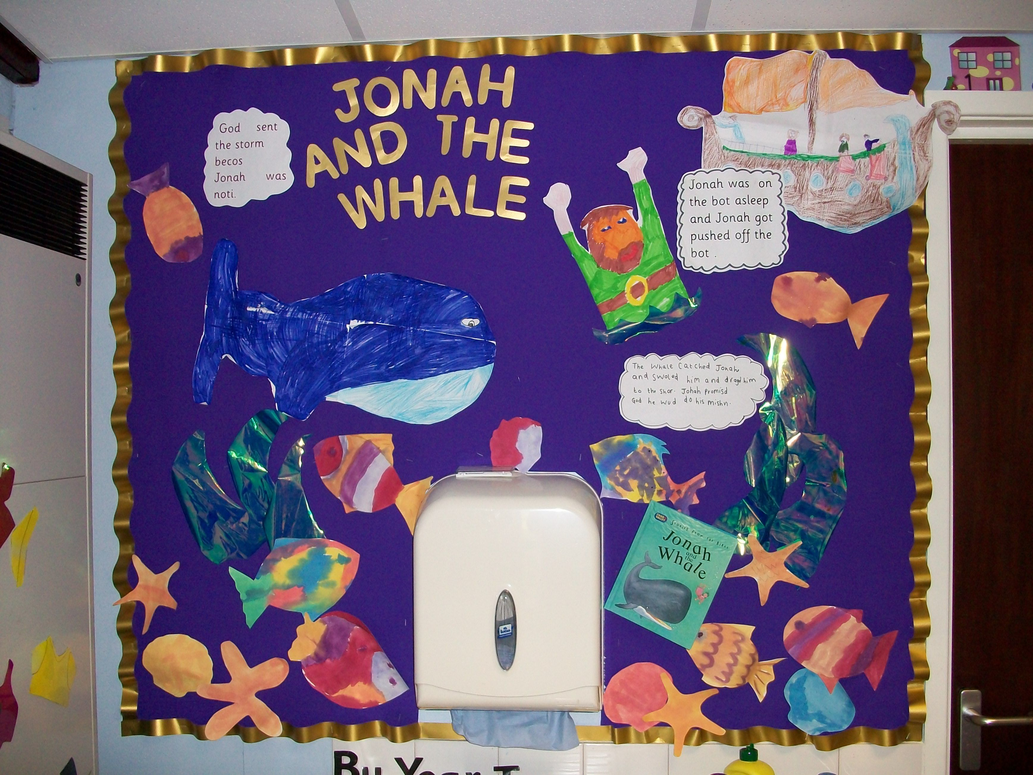 Re display from ks1 illustrating the bible story jonah and the re display from ks1 illustrating the bible story jonah and the whale robcynllc Image collections
