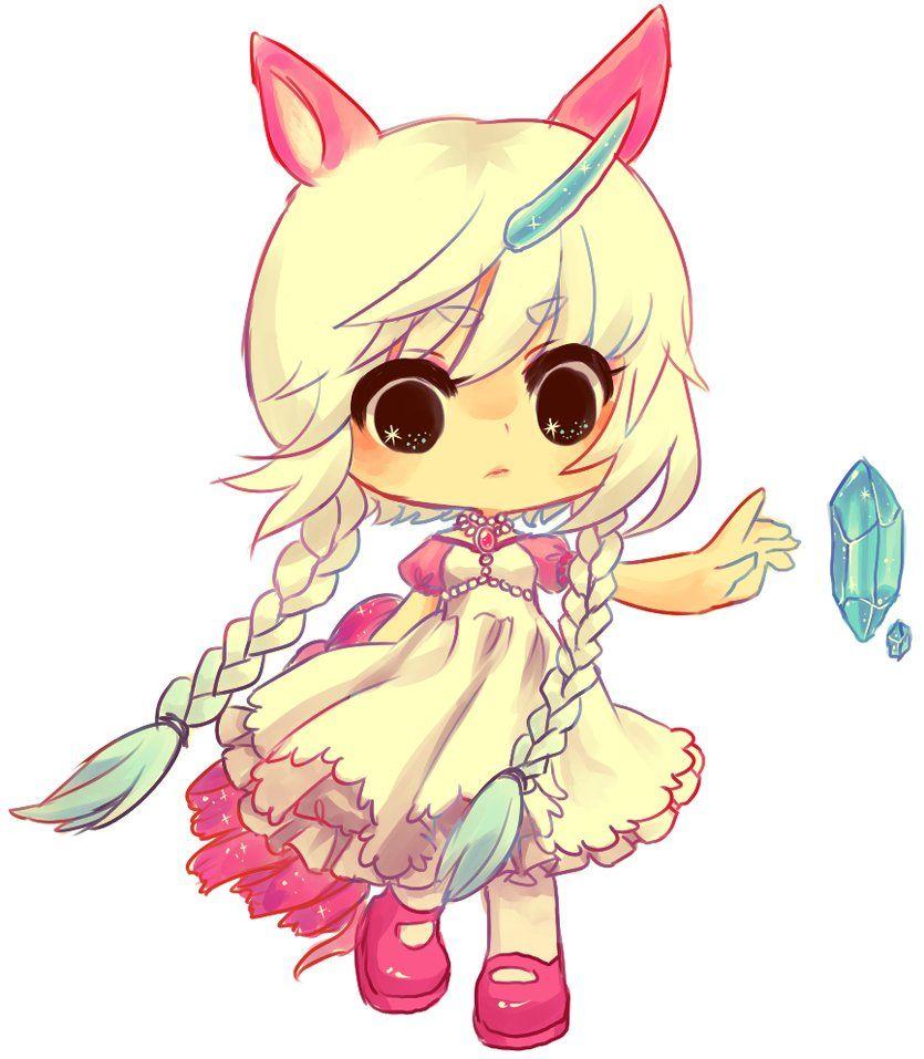 Commission Mae S Unicorn By Onisuu On Deviantart Chibi Drawings Anime Chibi Chibi