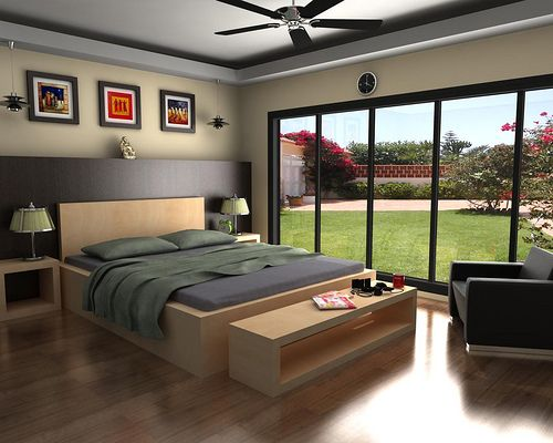 Bed Room Design Model By Architecture Design
