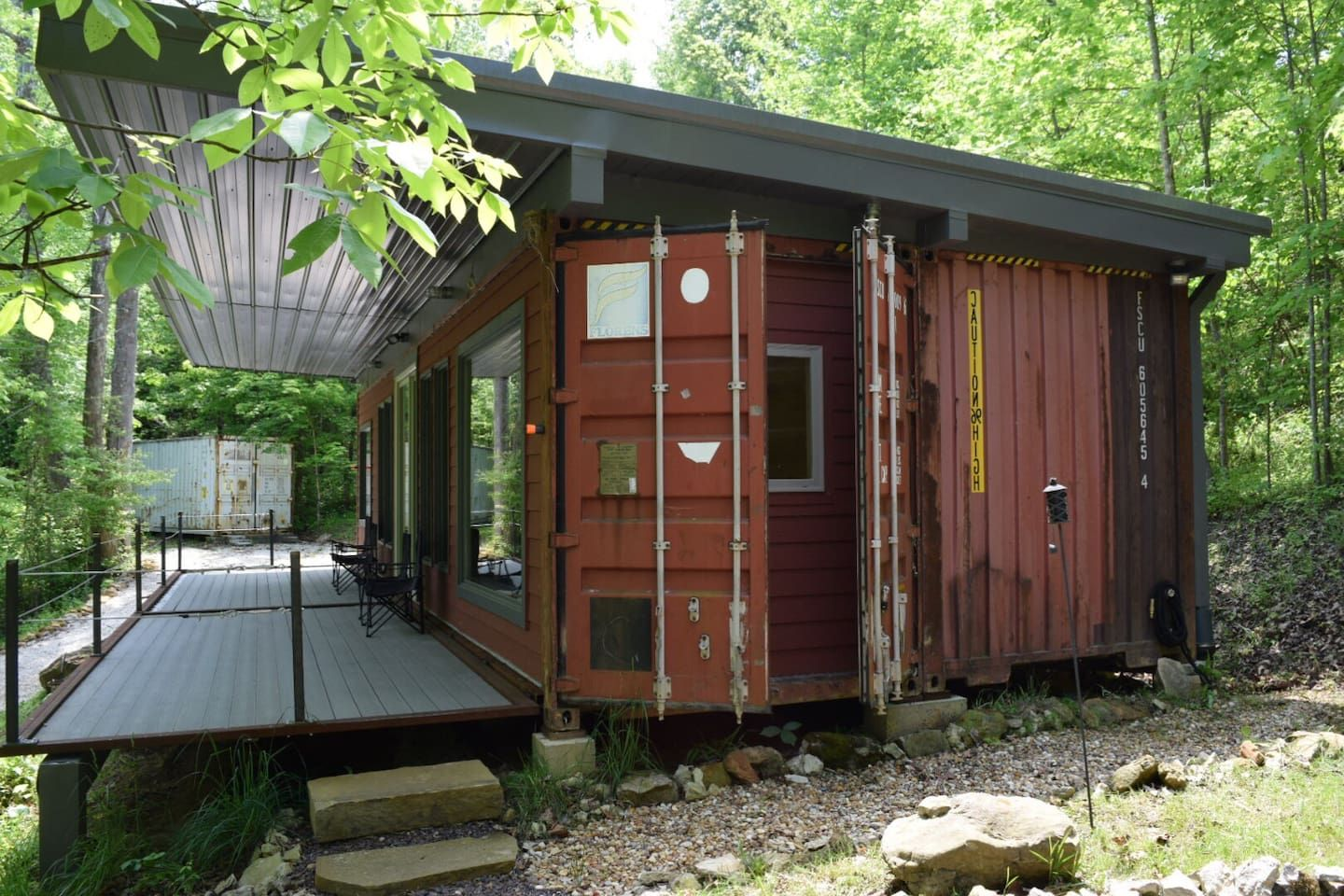 Shipping Container Cabin Cottages For Rent In Slade
