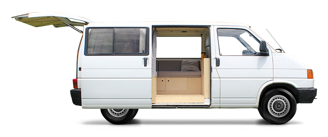 Extrêmement T4 #volkswagen #vanlife #van #aménagé | Yourte et mini van  BB36