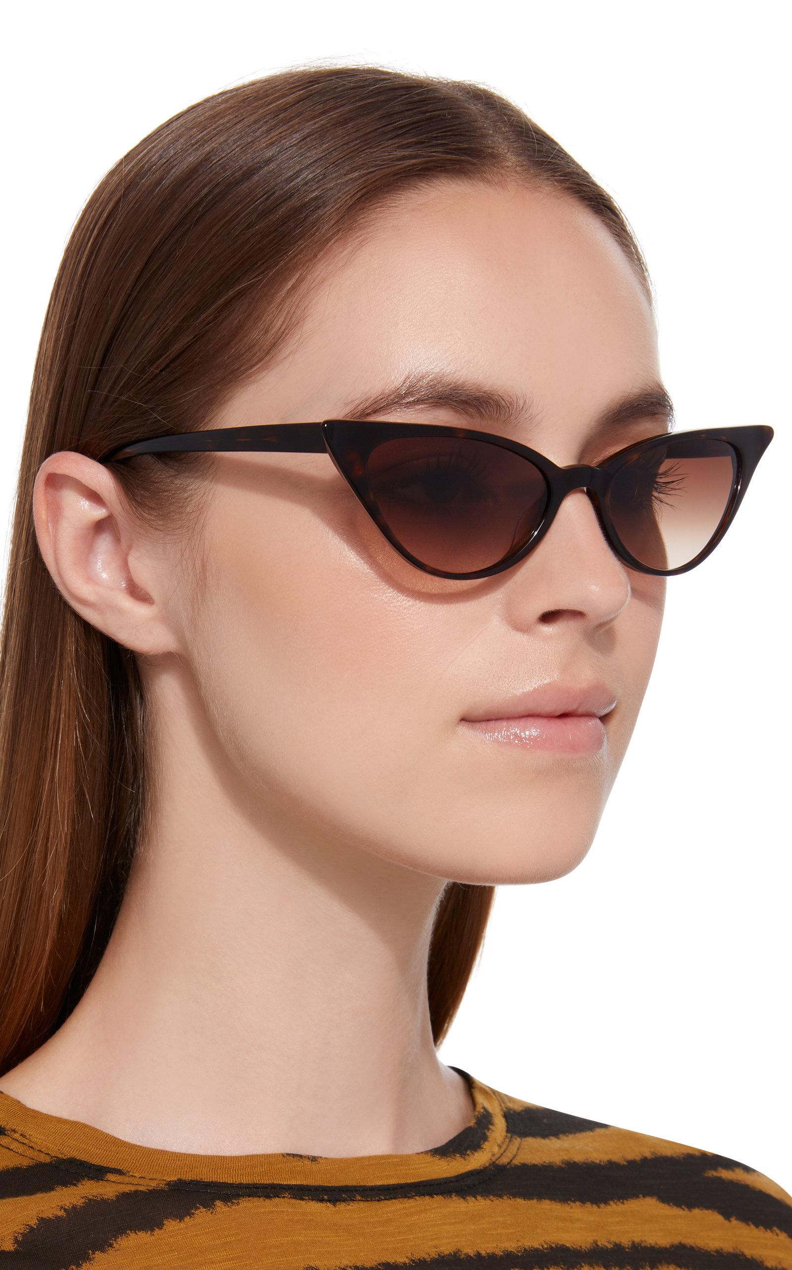 Kate Young Lita Cat Eye Sunglasses | Cat eye sunglasses