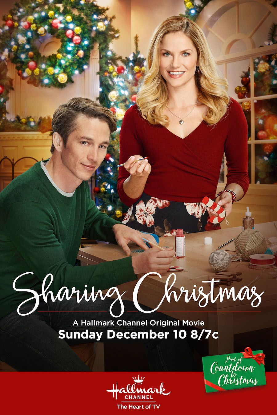 Sharing Christmas Ellen Hollman And Bobby Campo Are On Opposite Sides Of A Fight To Tear Do Hallmark Christmas Movies Christmas Movies On Tv Christmas Movies