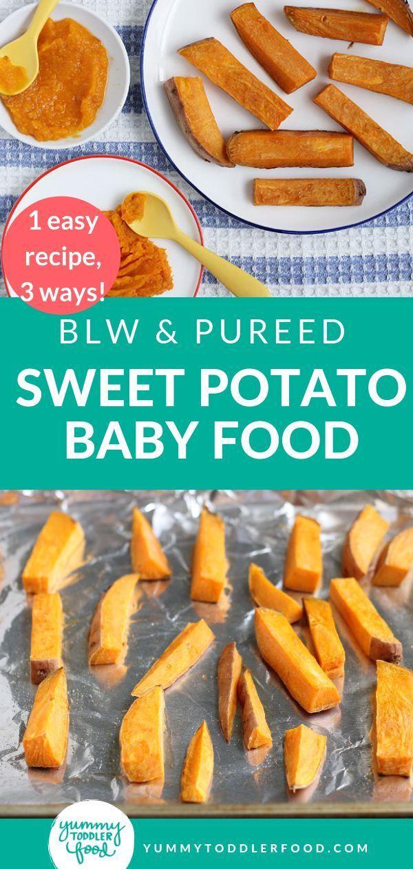 #Baby #BLW #Food #Method #Potato #Pureed