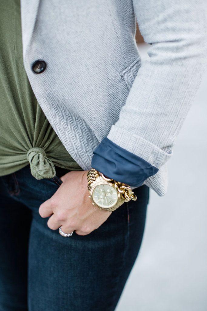 fall blazer outfit inspiration
