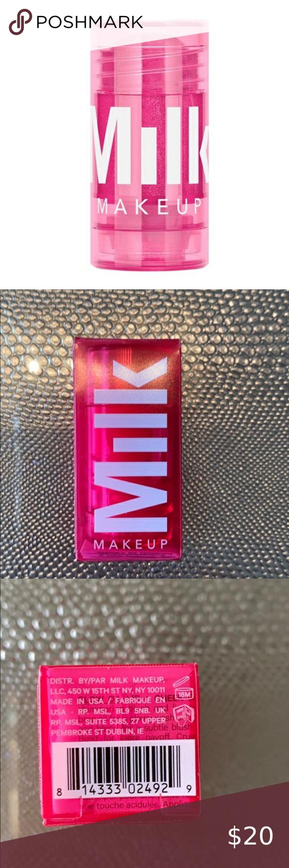 2 Milk Makeup Glow Oils for Lip & Cheek Halo Flare Set of
