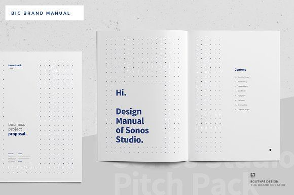 Big Brand Manual of Sonos Brand manual, Sonos and Brochures