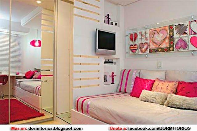 IDEAS PARA DECORAR UN DORMITORIO PEQUEÑO | Dormitorios ...