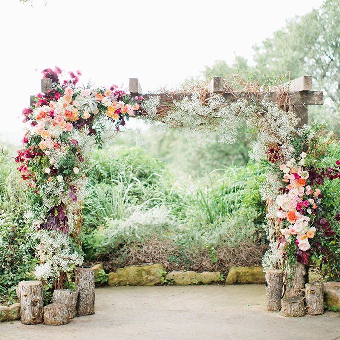 Wedding Altar Wood: 60 Amazing Wedding Altar Ideas & Structures For Your