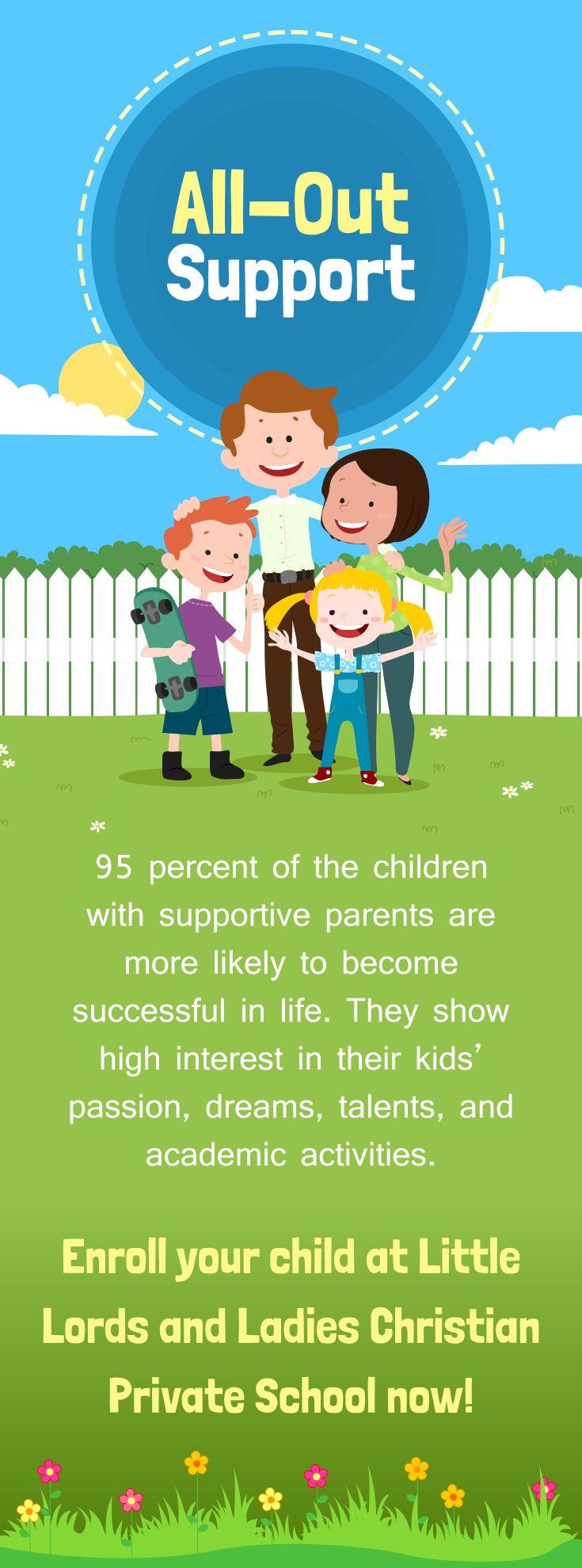 All-Out Support #support  #preschool #parents   www.littlelordsandladiescps.com