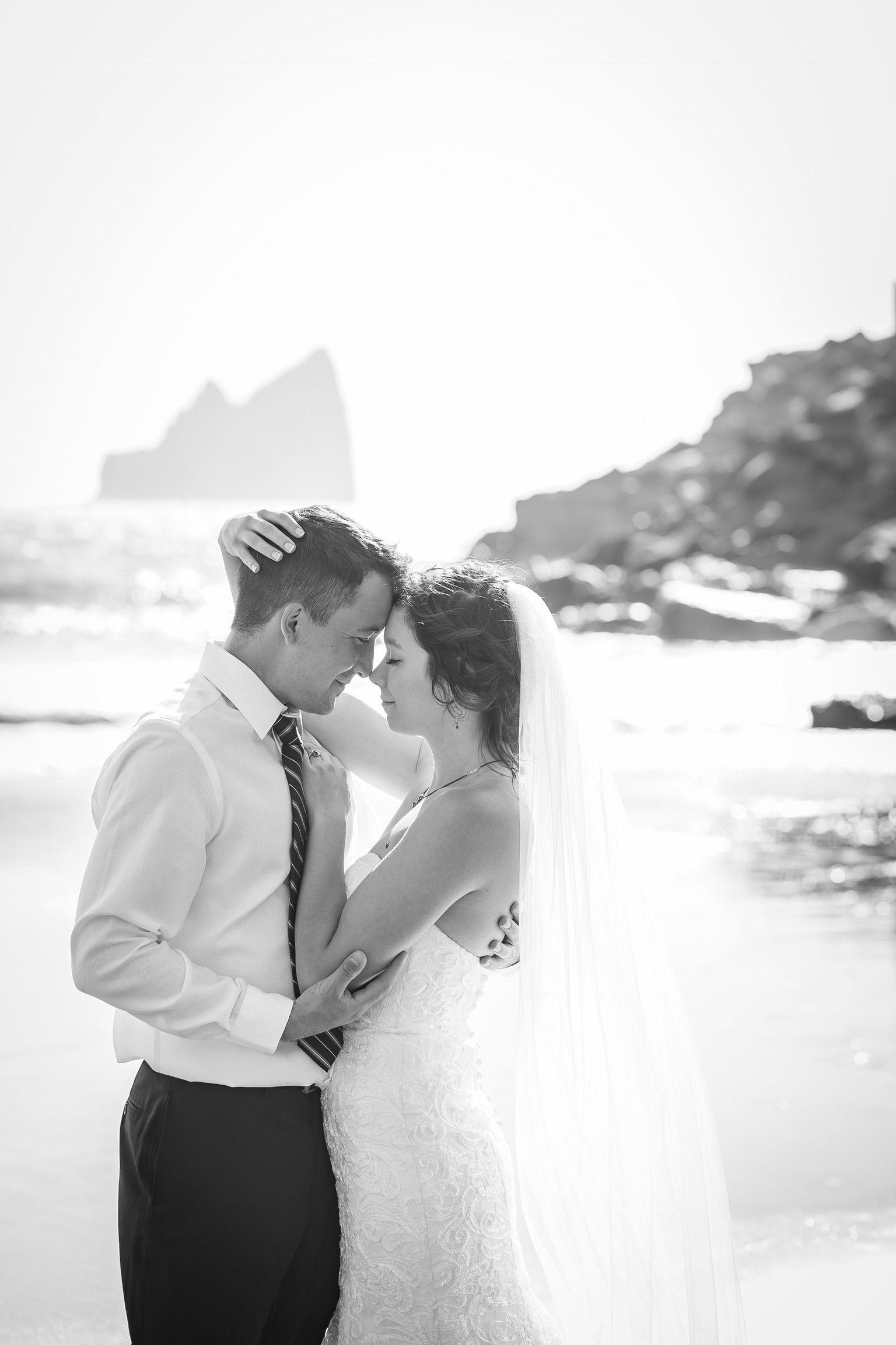 Burnt hill beach romanic weddings private beach on the