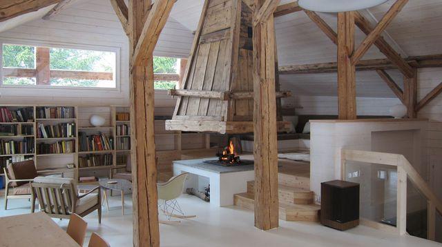 Une ferme de montagne totalement rénovée | Decoration, House and ...