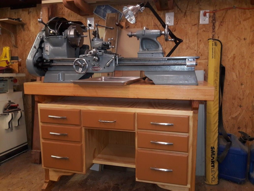 12 inches atlas craftsman lathe for sale ..check out Craigslist ...