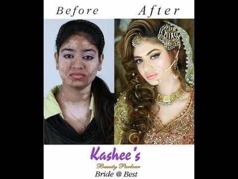Kashee S Unbelivable Bridal Makeup Before After Look 2017 Bridal Hair And Makeup Beautiful Bridal Makeup Bridal Makeup