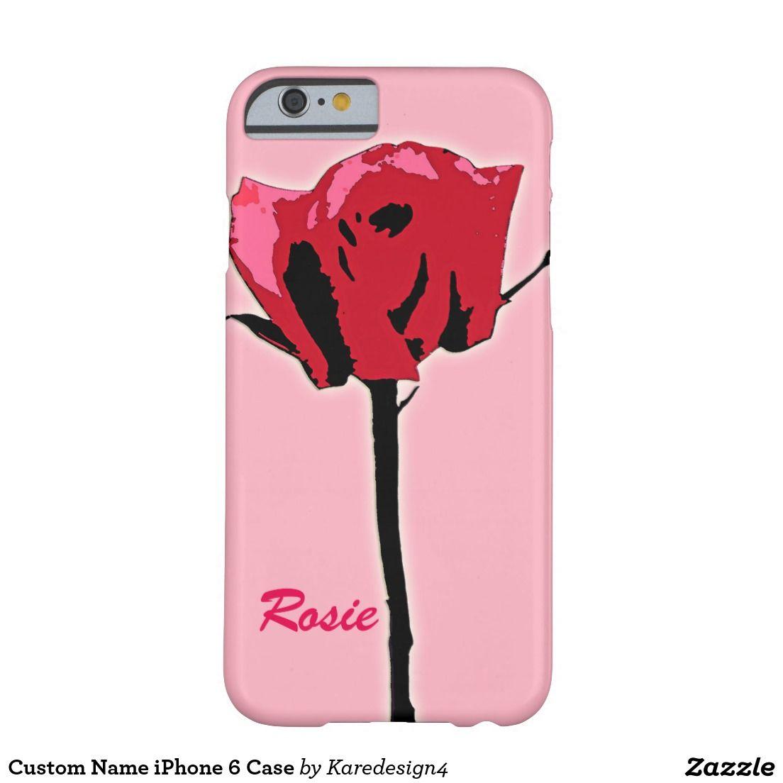 Custom Name iPhone 6 Case