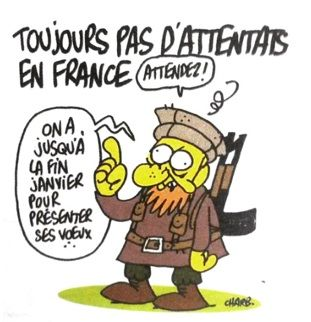 """Le dernier desin de Charb dans """"Charlie"""" - Mustapha, un dernier mercredi chez """"Charlie"""""""